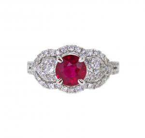Ruby Ring | B16452