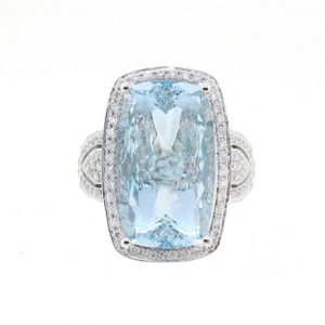 Aquamarine Ring | B16839