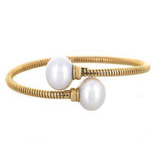 south sea pearl bangle| B18682