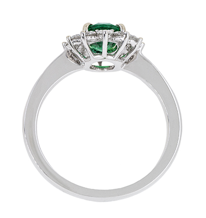 Emerald and Diamond Ring | B20423