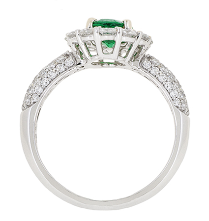 Emerald Ring   B18970(2)