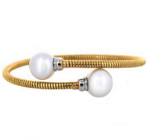 south sea pearl bangle   B19547