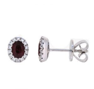 Ruby Earrings | B19915(1)
