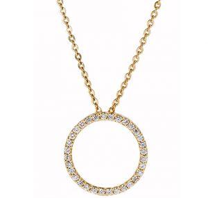 Diamond Circle Pendant | B20163