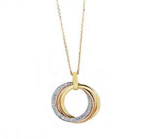Diamond Circle Pendant | B20165