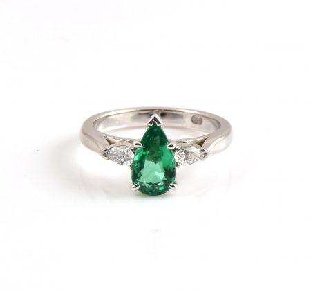 Emerald Trilogy Ring | B20423