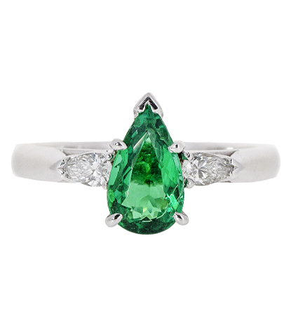 Emerald Trilogy Ring | B20423