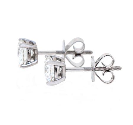 Diamond studs earrings   B20540(1)
