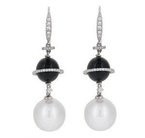 South sea pearl earrings | B16021