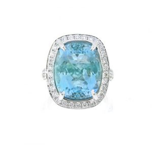 Aquamarine Ring | B17003