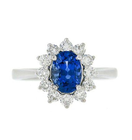 Sapphire Ring | B18841