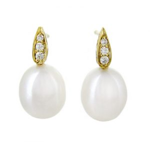 Fresh Water Pearl Earrings | B18903