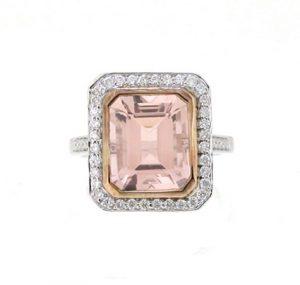 Morganite Ring | B19053