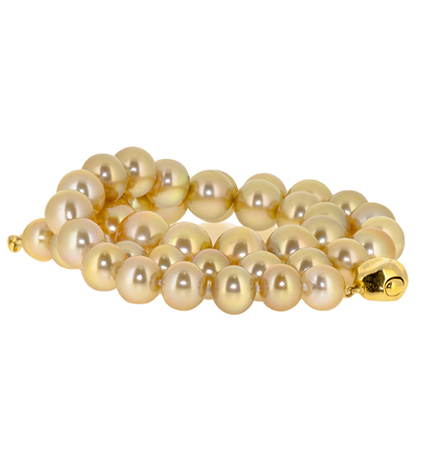 Gold South Sea Pearl Strand | B20413