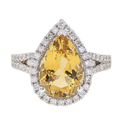 Yellow Beryl Ring | B20701