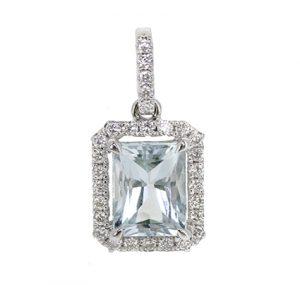 Aquamarine pendant | B20690