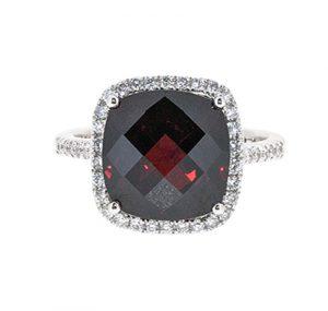 Garnet Ring | B20218