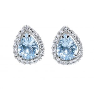 Aquamarine Earrings | B20731