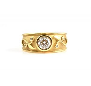 Art Nouveau Style Diamond Ring | B22413