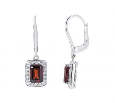 Garnet Earrings | B20763