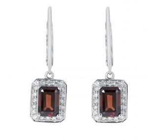Garnet Earrings | B20763