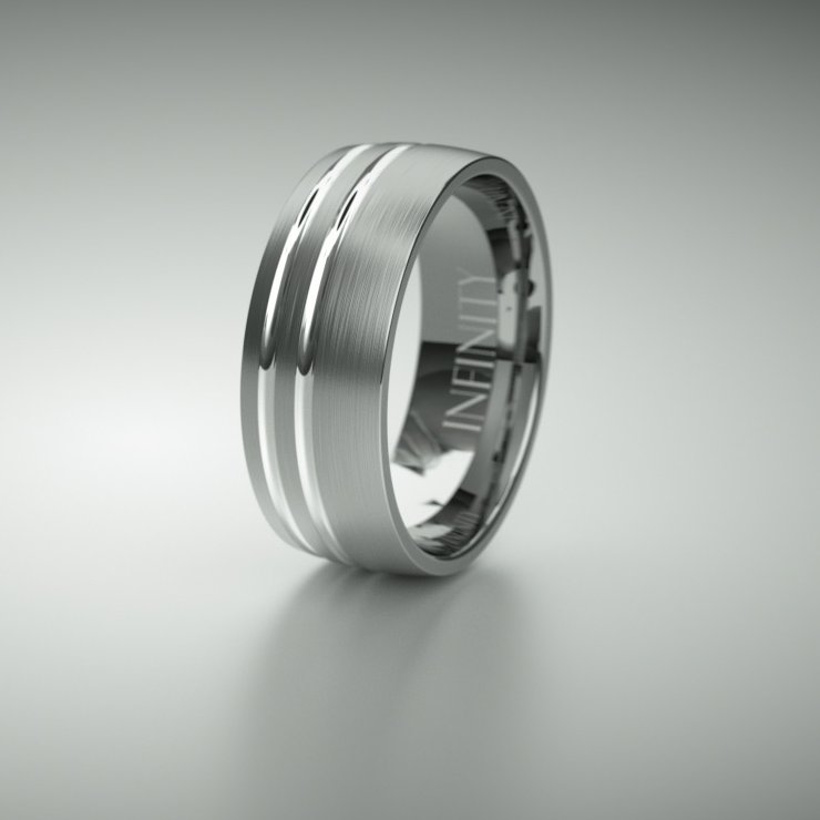 Infinity Ring 1107 BW