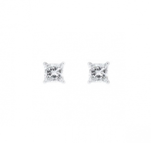 Princess Cut Diamond Stud Earrings | B20942