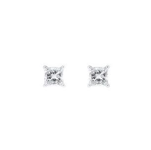 Princess Cut Diamond Stud Earrings | B20942