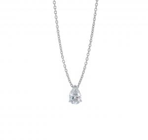 Pear Cut Diamond Necklace | B21042