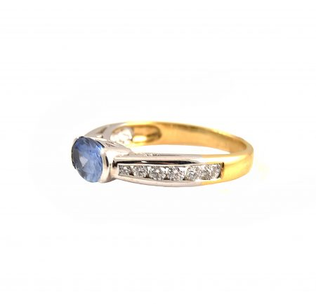 Sapphire and Diamond Ring | B18679