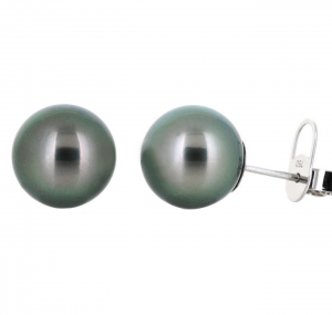 Tahitian South Sea Pearl Stud Earrings | B19546