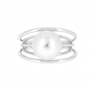 South Sea Pearl Multi Band Ring | B20247