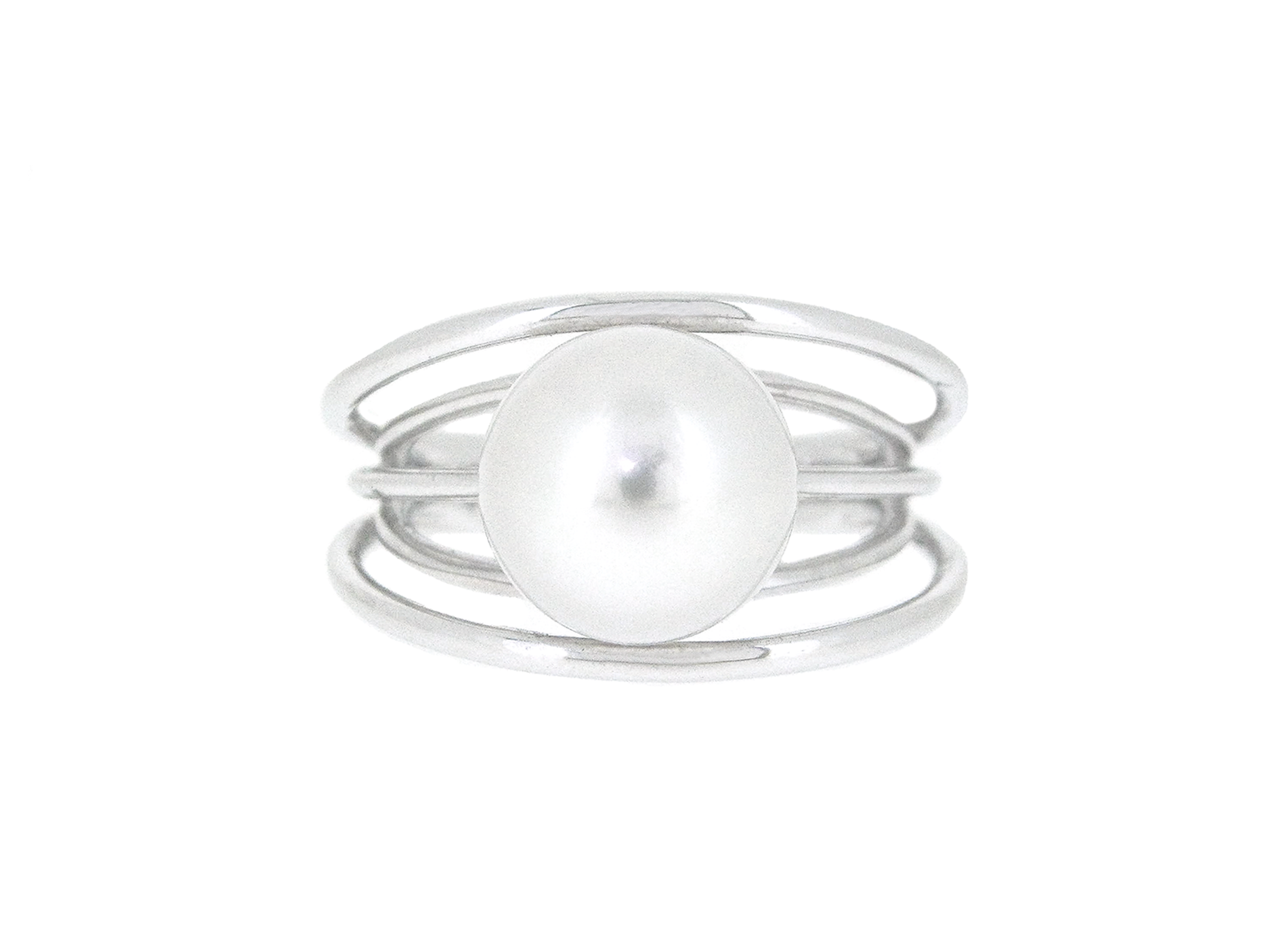 Multi Band South Sea Pearl Ring | B20247