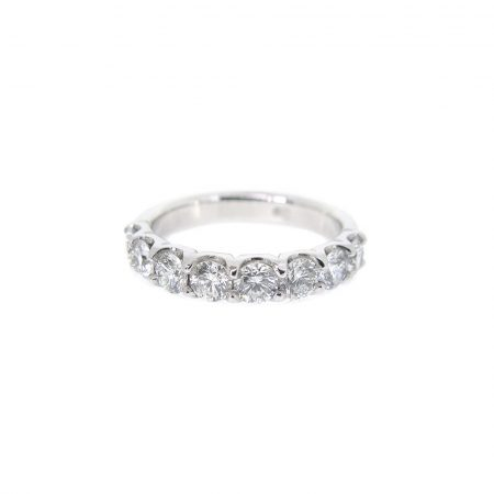 Large Scalloped Diamond Ring | B22584