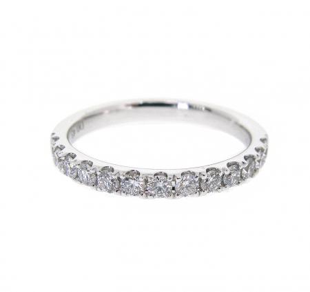 Claw Set Diamond Wedding Ring | B20919