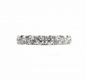 Large Scalloped Diamond Ring | B22727