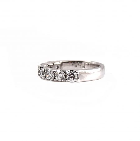 Large Scalloped Diamond Ring   B22727