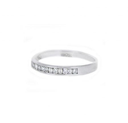 Bead Set Diamond Wedding Ring | B21052