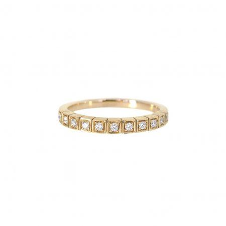 Square Set Diamond Wedding Ring | B20295