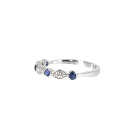 Sapphire And Diamond Ring | B20822