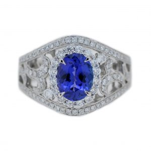 Art Deco Style Tanzanite Ring | B21113