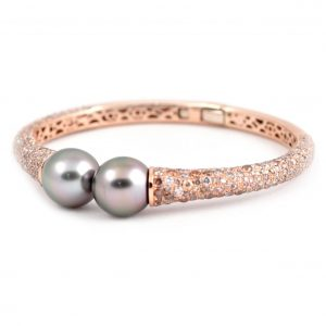 Autore South Sea Pearl And Diamond Bangle | B21248