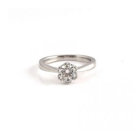 Round Brilliant Cut Diamond Solitaire Ring | B21283