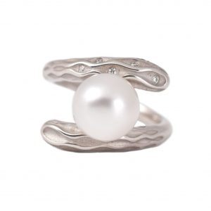 Autore Sterling Silver South Sea Pearl Ring | B20578