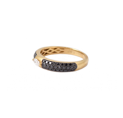 Black Diamond Dress Ring | B21214