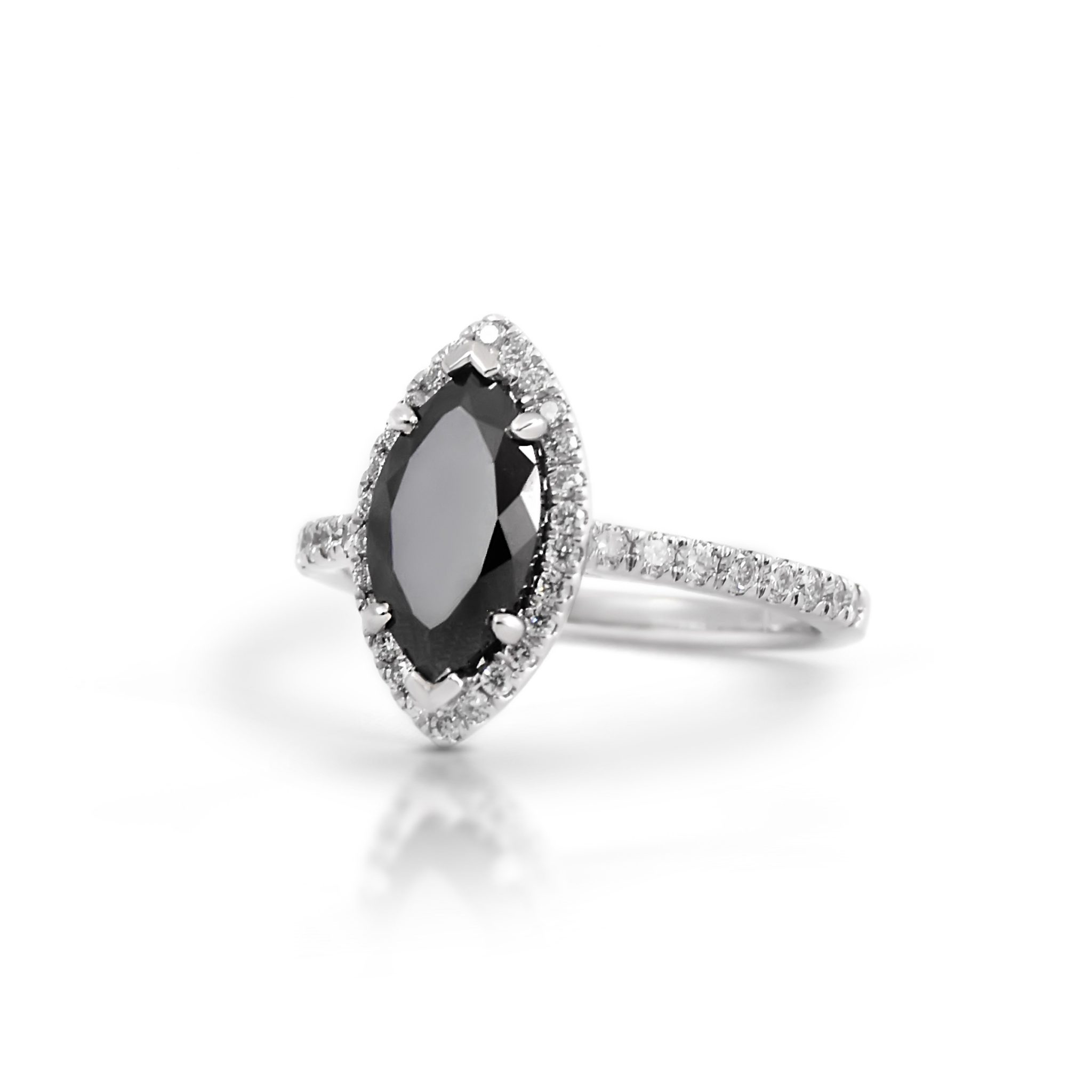 milgrain with white ct size products bands diamond ring sterling stone silver black and