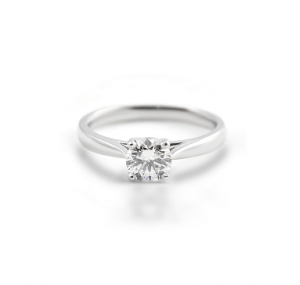 Four Claw Diamond Solitaire Engagement Ring | B22160