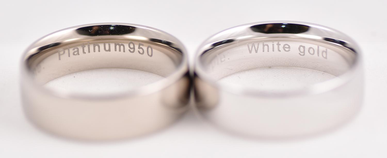 White Gold Versus Platinum Diamonds Pearls Perth