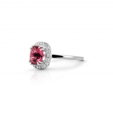 Tourmaline And Diamond Ring | B22062