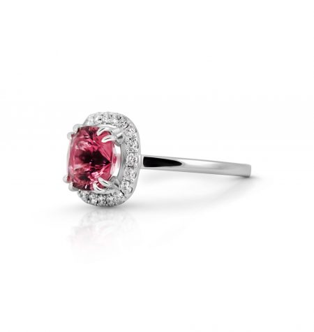 Tourmaline And Diamond Ring | B22062